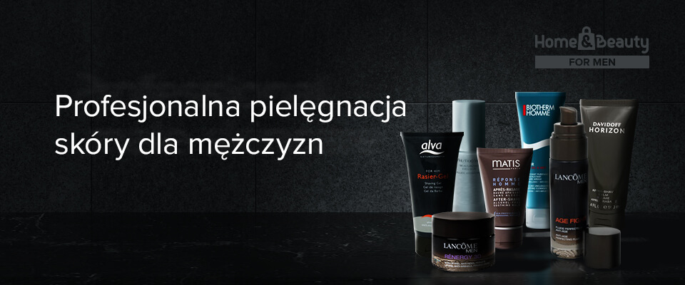 Professional male skincare