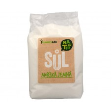 Mořská sůl jemná z Atlantiku 1 kg