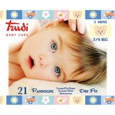 Dětské pleny Dry Fit s vrstvou Perfo-Soft velikost Mini 3-6 kg 21 ks