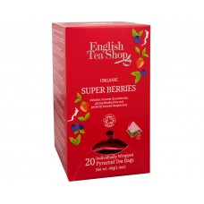 Super ovocný čaj Rooibos a červené ovoce 20 pyramidek