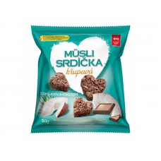 Semix Muesli Crunchy Hearts with Chocolate and Coconut 50g