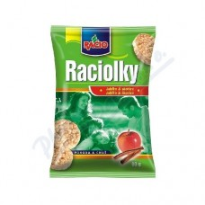 Racio Mini Rice Cakes with Apple and Cinnamon Flavour 60g