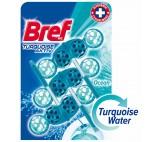 Bref Turquoise Aktiv Ocean Solid WC Block 3 x 50g
