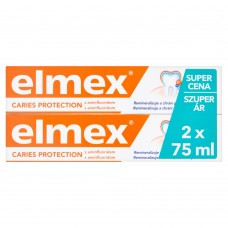 elmex Caries Protection Fluoride Toothpaste 2 x 75ml