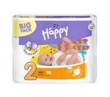 Bella Baby Happy Pieluszki jednorazowe 2 mini 3-6 kg 78 sztuk