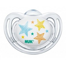 NUK Freestyle Orthodontic Pacifier with Ring 6-18 m