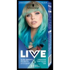 Schwarzkopf Live Ultra Brights or Pastel Farba do włosów 096 Turquoise Temptation