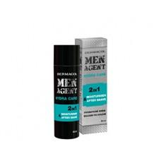 Dermacol Men Agent Hydra Care 2in1 Moisturiser & After Shave 50ml