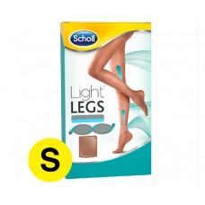 Scholl Light Legs Compression Tights Nude S 20 DEN