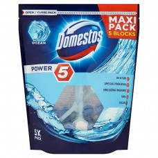 Domestos Power 5 Ocean Kostka toaletowa 5 x 55 g