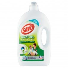 Savo Chlorine-Free Universal Washing Gel for Colour and White Laundry 50 Washes