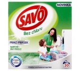 Savo Without Chlorine Universal Washing Powder for Colour and White Laundry 20 Washes