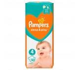 Pampers Sleep&Play, rozmiar4, 50pieluszek, 9–14kg