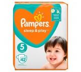 Pampers Sleep&Play, rozmiar5, 42pieluszek, 11–16kg