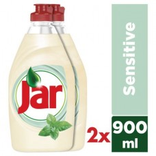 Jar Sensitive Washing Up Liquid Teatree & Mint 2x900ml