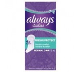 Always Dailies Fresh & Protect Normal Wkładki Higieniczne x 30