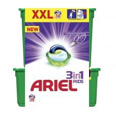 Ariel Lavender Freshness 3 w 1 Kapsułki do prania, 50 prań