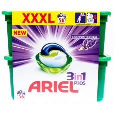 Ariel Lavender Freshness 3 w 1 Kapsułki do prania, 56 prań