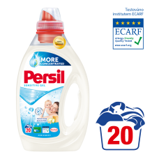 Persil Sensitive Gel 20 Washes 1.00L