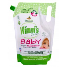 Winni's Lavatrice Baby 2v1 hypoalergenní prací gel s přírodní aviváží s jemnou vůní