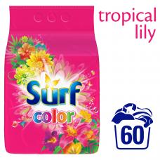 Surf Color Tropical Lily & Ylang Ylang Proszek do prania 3,9 kg (60 prań)