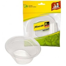 Fino Plastic Bowls 250ml 6 pcs