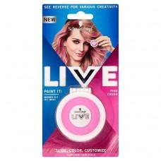 Schwarzkopf Live Paint It! Temporary Hair Chalk Pink Crush
