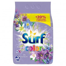 Surf Color Iris & Spring Rose Proszek do prania 3,9 kg (60 prań)