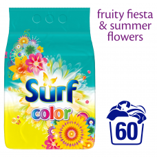 Surf Color Fruity Fiesta & Summer Flowers Proszek do prania 3,9 kg (60 prań)