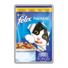 Felix Fantastic Karma dla dorosłych kotów z kurczakiem w galaretce 100 g