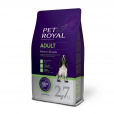 Pet Royal  Adult Dog Medium Breeds pro středně velká plemena 2,7kg