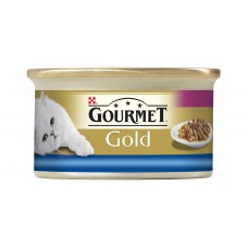 GOURMET Gold with Sea Fish in Juice with Spinach 85g