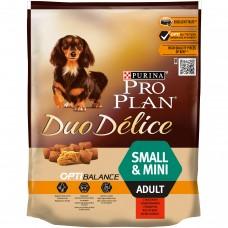 PRO PLAN Duo Délice Small Adult Pełnoporcjowa karma dla dorosłych psów z wołowiną i ryżem 700 g