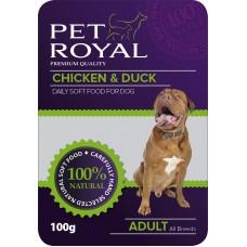 Kapsička Pet Royal Dog kure+kachna 100g