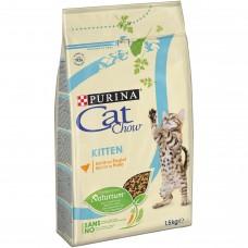 CAT CHOW Kitten Karma bogata w kurczaka 1,5 kg