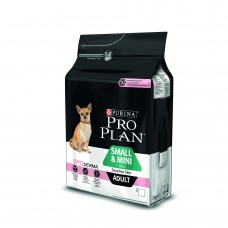 PRO PLAN Small & Mini Adult Sensitive Skin Sucha karma dla psa bogata w łososia 3 kg