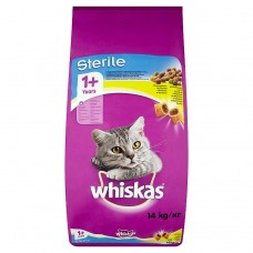 Whiskas Sterile Complete Food for Adult Cats with Chicken 14kg