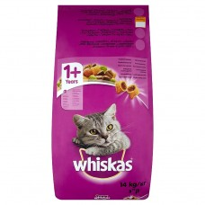 Whiskas Complete Pet Food for Adult Cats with Chicken 14kg