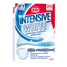 K2r Intensive White Detergent Wipes 20 pcs