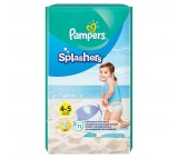 Pampers Splashers, R4-5, 11jednorazowych pieluch do pływania