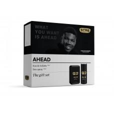 STR8 AHEAD EDT + deodorant