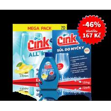 CINK Starter pack péče o myčku