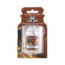 Yankee Candle Car Jar luxusní visačka Leather