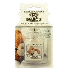 Yankee Candle Car Jar luxusní visačka Soft Blanket