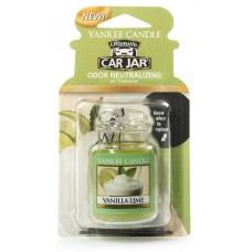 Yankee Candle Car Jar luxusní visačka Vanilla Lime