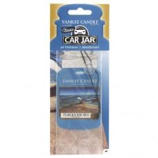 Yankee Candle Car Jar Turquoise Sky papírová visačka do auta