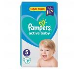 Pampers Active Baby Rozmiar 5, 51 pieluszek, 11-16 kg