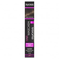Syoss Hair Mascara Dark Brown 16ml