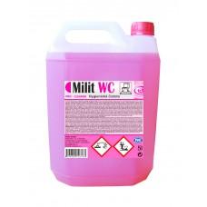 Milit WC PRO Cleaner čistič sanitárního zařízení, aktivní gel s dlouhotrvající vůní