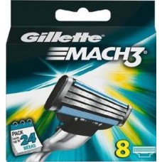 Gillette Mach3 náhradní břity